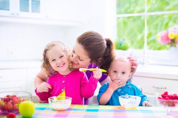 Colazione dei bambini